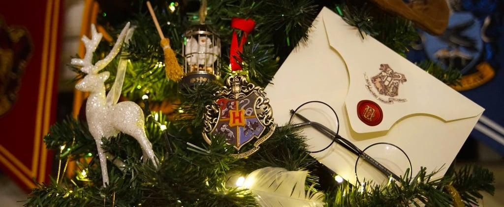 Merlin's Beard! This Harry Potter Christmas Tree Is a Fan's Dream Come True