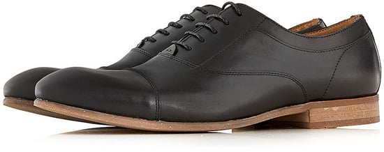 Hudson Black Oxford Lace Up Shoes