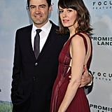 Ron Livingston and Rosemarie Dewitt stepped out in NYC.
