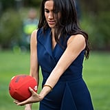 Meghan Markle Playing Sports Pictures