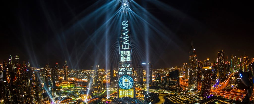 Skyfall Added to Burj Khalifa Light Up Show Dubai