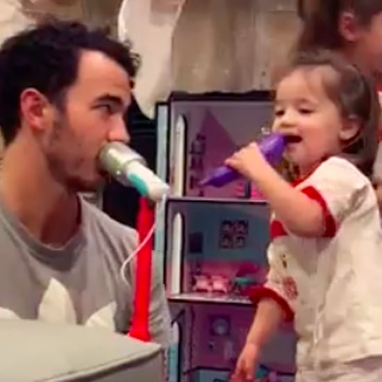 Cute Videos of Kevin Jonas's Daughters Alena and Valentina