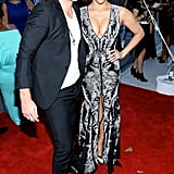 Robin Thicke and Paula Patton attended the premiere together in NYC.