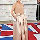 Emilia Fox went with nude William Vintage.