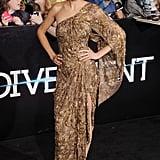 Shailene Woodley at the Divergent Los Angeles Premiere