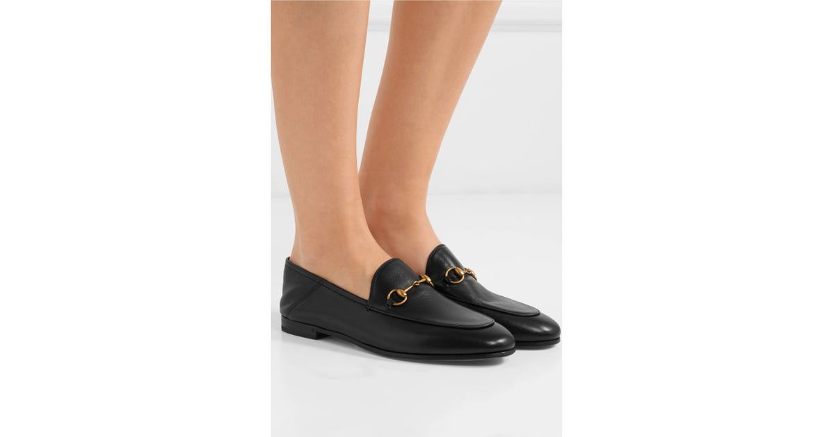 2e227faaf20 Gucci Black Brixton Crushback Loafers