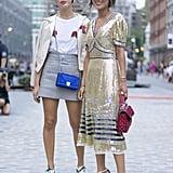 Dani and Aimee Song at New York Fashion Week Spring 2017