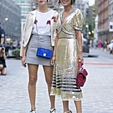 Dani and Aimee Song at New York Fashion Week