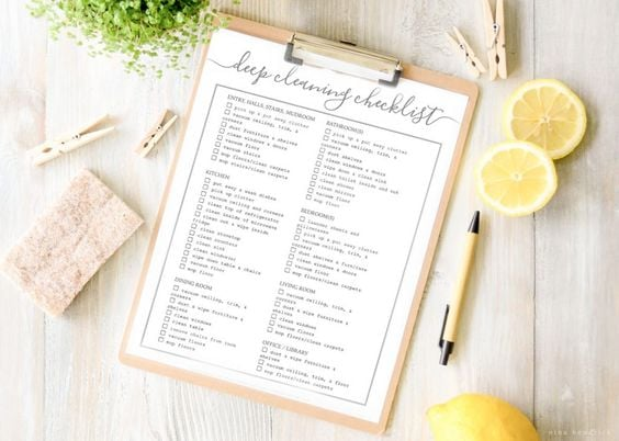 Download: Nina Hendrick Deep Cleaning Checklist