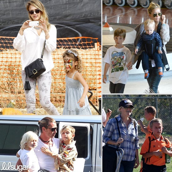 Celebrity Family Pictures | October 2012