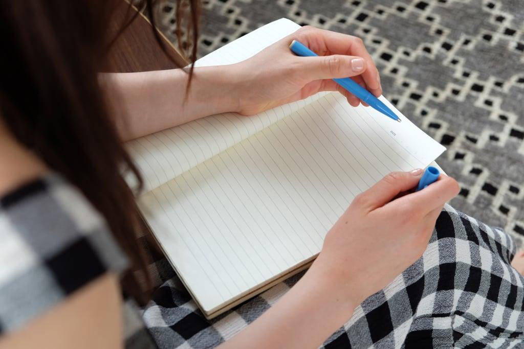 Start a gratitude journal.