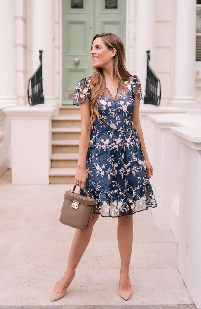 Gal Meets Glam Collection Bridget Embroidered Dress