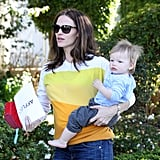 Jennifer Stops With Samuel Before Ben Breakfasts With Sera
