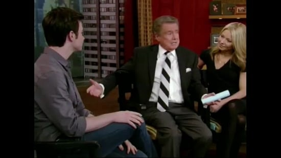 Chris Colfer Campaigning to Get Julie Andrews on Glee!