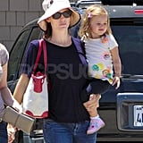 Seraphina Affleck is oh so adorable.