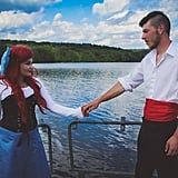 Ariel and Prince Eric From The Little Mermaid