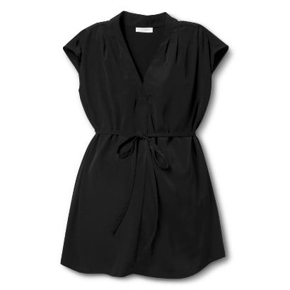 3ae7f5a808f9a Liz Lange for Target Sleeveless Short-Sleeve Pleated Neck Top ($25 ...