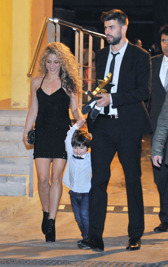 Shakira & Gerard Pique PDA at the Football Federation Awards