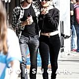 Nikki Bella and Artem Chigvintsev Kissing in LA March 2019