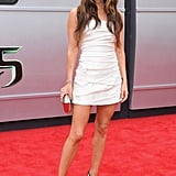 Megan Fox stunned on the red carpet at the Teenage Mutant Ninja Turtles premiere in LA on Sunday.