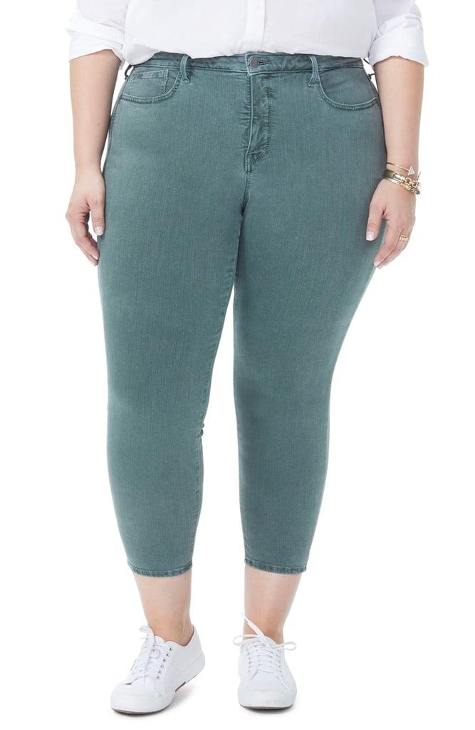 NYDJ Ami Stretch Ankle Skinny Jeans (Sugar Pine) (Plus Size)