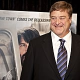 John Goodman had a smile on his face at the Argo premiere in Washington DC.