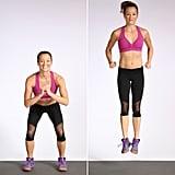 Jump Squat With Heel Click