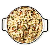 Tiller & Hatch Farfalle With Marsala Sauce and Chicken