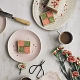 Matcha Strawberry Battenberg Cake