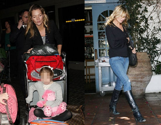 Kate Moss and Daughter Lila Grace Come to LA