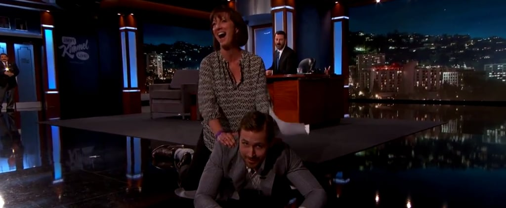 A Lucky Woman Named Karen Got to Straddle Ryan Gosling on the Floor