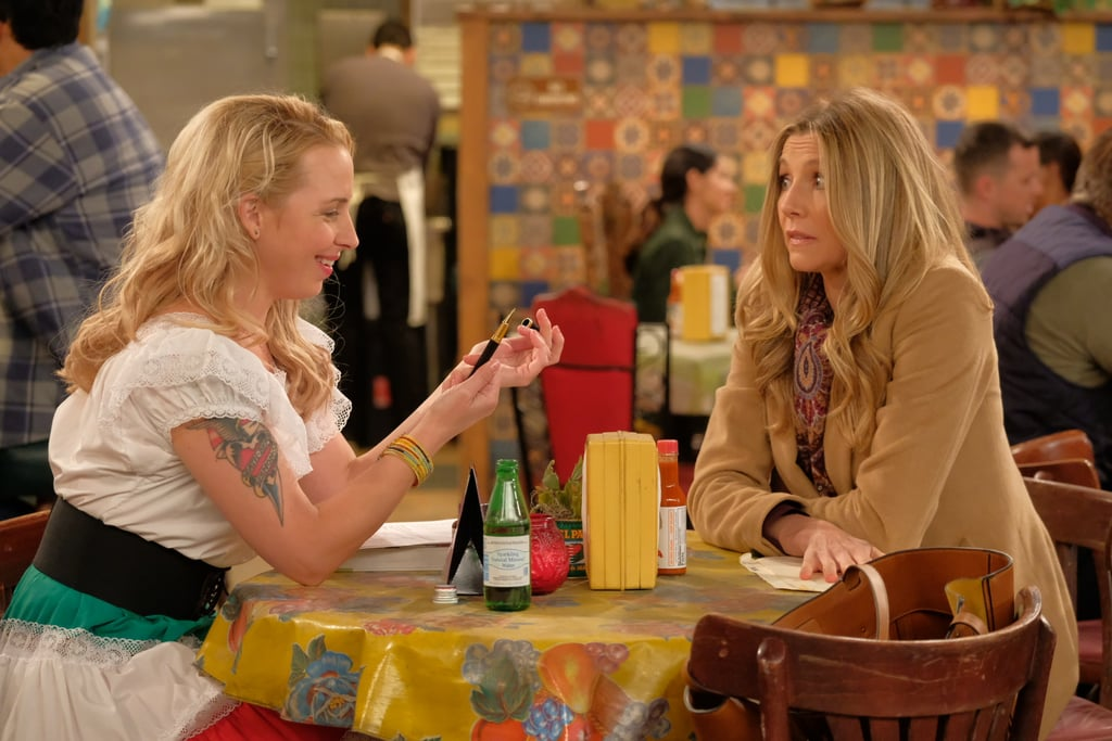 "The writers dreamed up a clever plan to allow both of the actresses who played Becky — Alicia Goranson and Sarah Chalke — to appear in the reboot. The Scrubs alum (aka Becky #2) will play ""a middle-class married woman named Andrea who hires Becky (Goranson) to serve as her surrogate."""