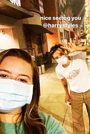 Harry Styles Wears the Same Tee as Rachel Green From Friends