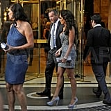 Petra's sister, Tamara Ecclestone, was on hand for the prewedding meal.