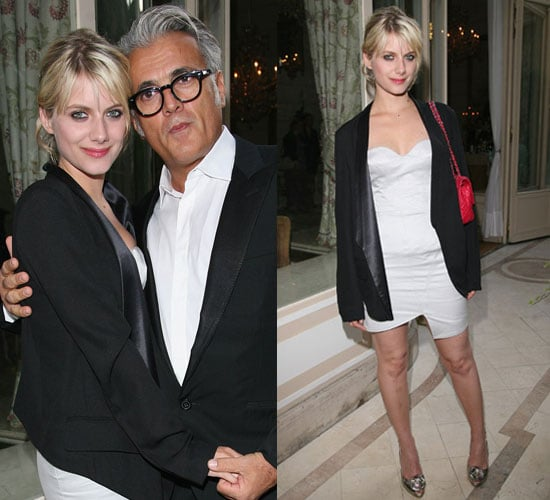 Pictures of Melanie Laurent at Giuseppe Zanotti Party in Paris