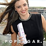 Miranda Kerr promoted Clear Scalp & Hair Beauty Therapy during a photo shoot in Australia.