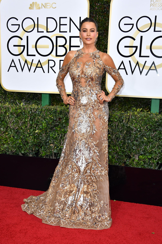 Image result for Sofia Vergara At golden globe 2017