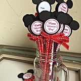 Mickey Mouse Valentine's Day Pencil Favors
