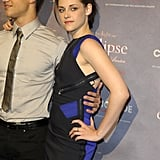 Pictures of Kristen Stewart and Taylor Lautner Promoting Eclipse in Berlin