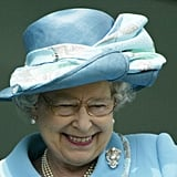 Queen Elizabeth II enjoyed the derby in 2003.