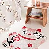 Lucky Cat Bath Mat