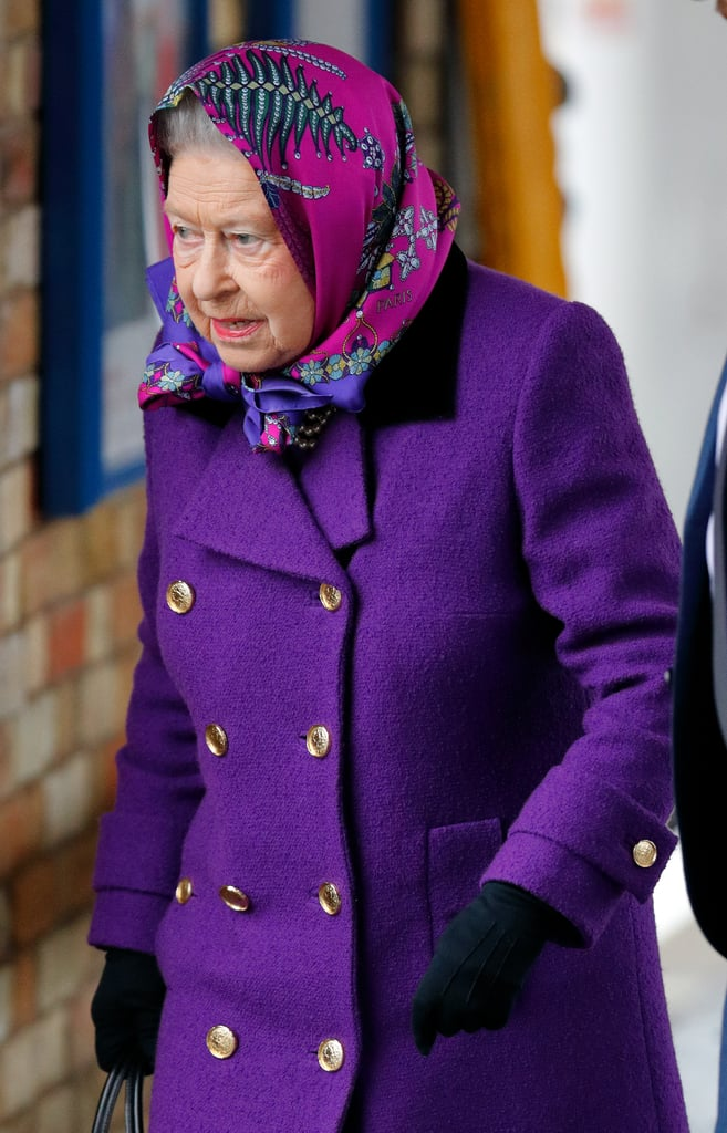 Queen Elizabeth and Prince Philip Christmas Train Ride 2017