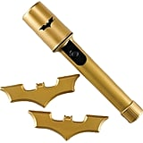 Kids DC Comics Batman Costume Batarangs & Bat Signal Flashlight