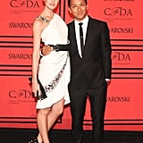 Candice Swanepoel with Prabal Gurung at the 2013 CFDA Awards. Source: Joe Schildhorn/BFAnyc.com
