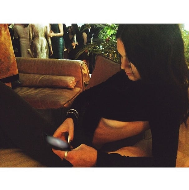 """Kendall captioned this Instagram picture, """"A little side boob never hurt nobody."""" Source: Instagram user kendalljenner"""