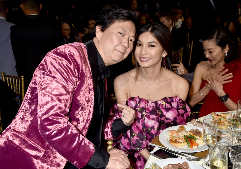 Pictured: Ken Jeong and Gemma Chan