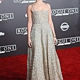 Felicity Jones Wearing Dior Spring '17