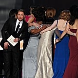 Brad Pitt and the Cast of The Help