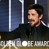 Christian Bale's Golden Globes Acceptance Speech