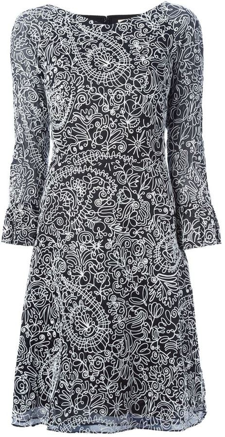 Tory Burch Floral Embroidered Dress ($843)